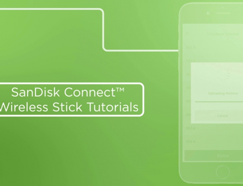 SanDisk Connect™ Wireless Stick Tutorial